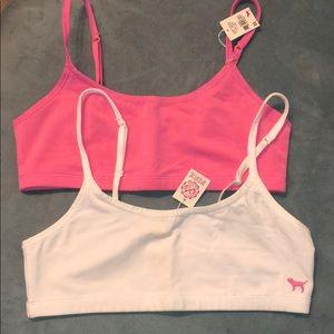 2 Pack of Victoria's Secret PINK bras